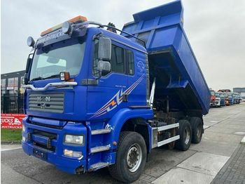 Camion benne MAN TGA 26.480 6X4 FULL STEEL MANUAL EURO 3