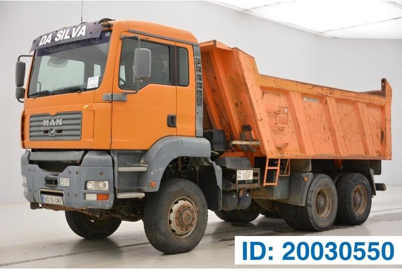 camion benne MAN TGA 33.363 - 6x6