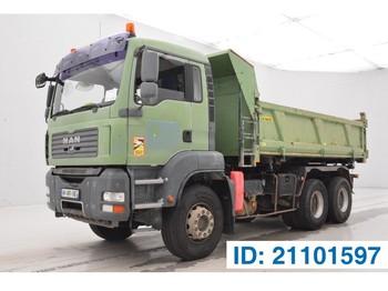 Camion benne MAN TGA 33.390 - 6x4
