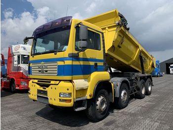 Camion benne MAN TGA 35.400 8X4 19 M3 Tipper Euro 4