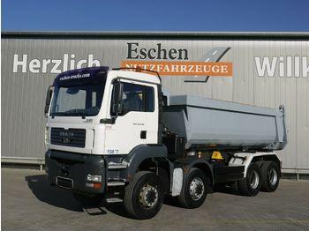 Camion benne MAN TGA 35.430 8x8BB 19m³ Muldenkipper*Blatt*Manuell