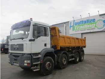 Camion benne MAN TGA 35.430 manual gearbox