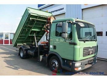 Camion benne MAN TGL 12.210