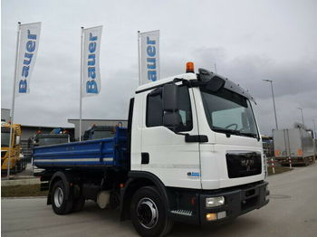 Camion benne MAN TGL 12.220 3-S-Kipper/2xAHK/170 Tkm Orig