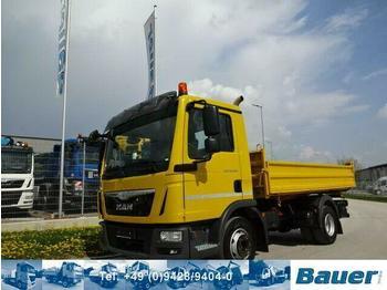 Camion benne MAN TGL 12.250 Kipper / 2 x AHK / 105 Tkm, Top