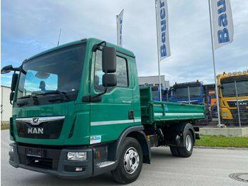 Camion benne MAN TGL 8.180 Meiller Kipper/Euro 6/AHK/121 Tkm orig