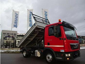 Camion benne MAN TGL 8.220 Meiller/2 x AHK/164 Tkm,Top