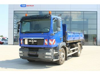 MAN TGM 18.250 4x2 BB, THREESIDED, BEACON  - camion benne