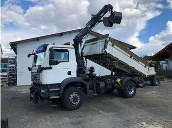 Camion benne MAN TGM 18.280