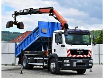 Camion benne MAN TGM 18.290 Darus billencs