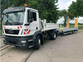 Camion benne MAN TGM 18.320 4x2 / Euro 6d 3-Seiten-Kipper