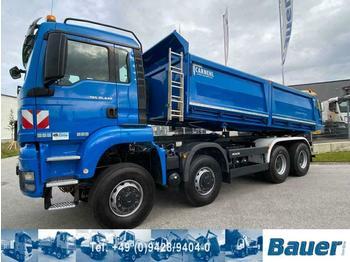 Camion benne MAN TGS35.440BB 8x8Allrad Dreiseitenkipper/83Tkm,Top