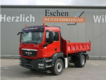 Camion benne MAN TGS 18.440 4x4H*Meiller 3-Seiten Bordmatik*Klima