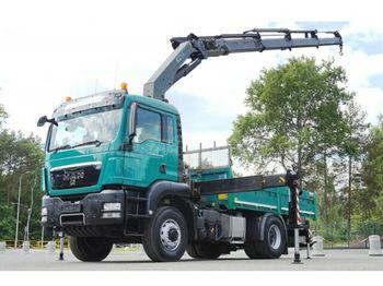 Camion benne MAN TGS 18.440 4x4 Darus