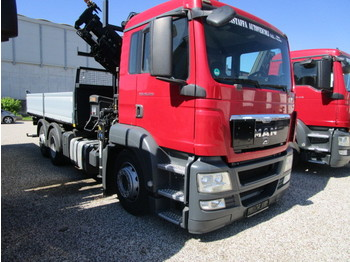 MAN TGS 26.320 - camion benne