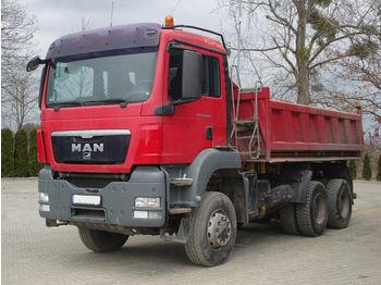Camion benne MAN TGS 26.400 6x6 EURO5 Dreiseitenkipper TOP!