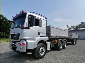 Camion benne MAN TGS 26.480 Dautel Dreiseitenkipper
