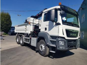 Camion benne MAN TGS 33.420: photos 1
