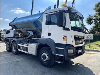 Camion benne MAN TGS 33.440 6x4 BORDMATIC - MANUAL ZF + RETARDER - 258.000km - EURO 6