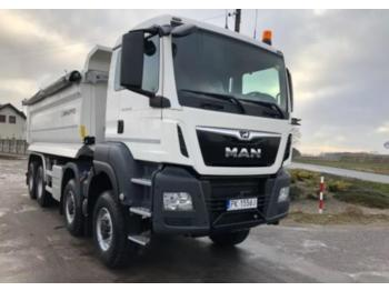 MAN TGS 33.463 - camion benne