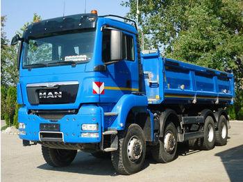 Camion benne MAN TGS 35.440 8x8 EURO5 DSK Mit Bordmatik TOP!