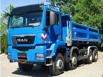 Camion benne MAN TGS 35.440 8x8 EURO5 Dreiseitenkipper TOP!: photos 1