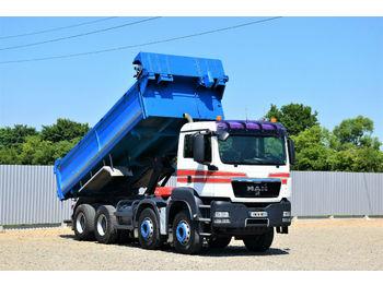 Camion benne MAN TGS 35.440 KIPPER 5,70m + BORDMATIC * 8x4!
