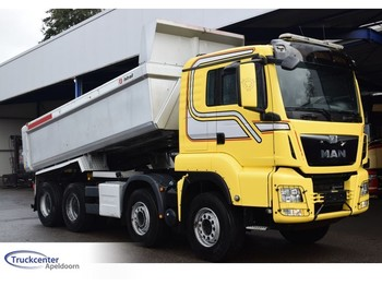Camion benne MAN TGS 35.480 8x4 Steel spring, Retarder, Euro 6, Truckcenter Apeldoorn