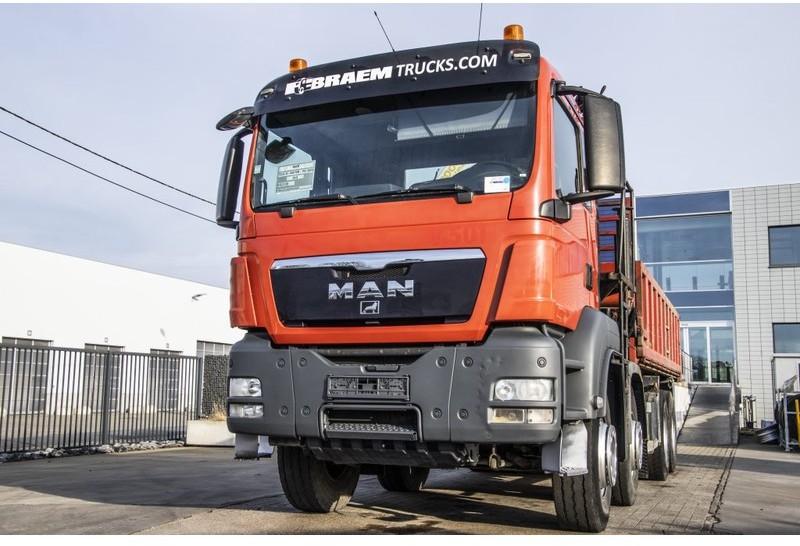 camion benne MAN TGS 41.440 BB - PK 20002 - (3xHydr.- Remote C.)