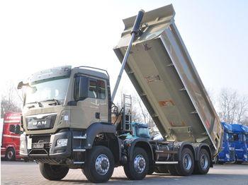 Camion benne MAN TGS 41.480 BB 8x8