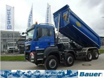 Camion benne MAN TGS 41.500 Meiller 8x8  Muldenkipper/87 Tkm orig
