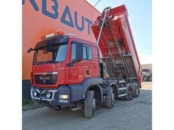Camion benne MAN TGS 41.540 8x4 Full Steel