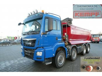 Camion benne MAN TG-S 35.480 8x4 BB 4 Achs Muldenkipper