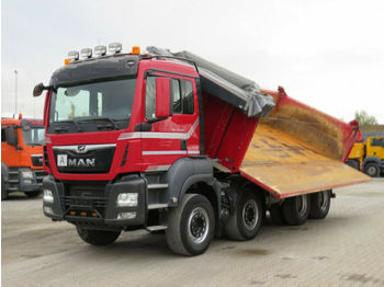 Camion benne MAN TG-S 35.500 8x4 BB 4-Achs Kipper Bordmatik