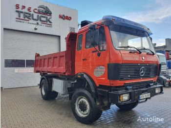 MERCEDES-BENZ SK 1935, Full Steel, 4x4 ,V8 engine, 13 tons rear axles - camion benne