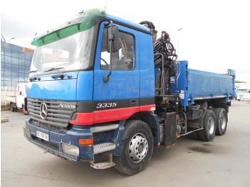 Mercedes Actros 3335 - camion benne