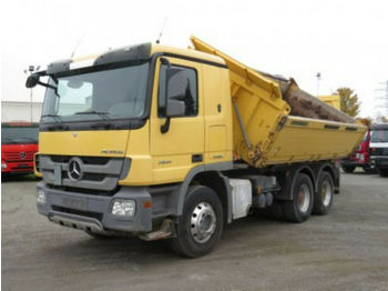Camion benne Mercedes-Benz 2641 K Actros-6x4 3x Pedale