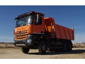 Camion benne Mercedes-Benz 3342 6X6 Mulden Kipper Euromix ET 18