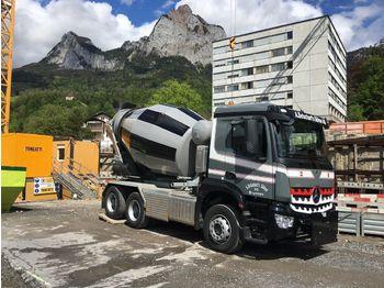 Camion benne Mercedes-Benz 3342 6x4 / EuromixMTP  WECHSELSYSTEM KIPPER+MISC