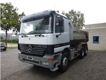 Mercedes-Benz ACTROS 3331 GROS PONTS/ BIG AXLES MANUEL/MANUAL - camion benne
