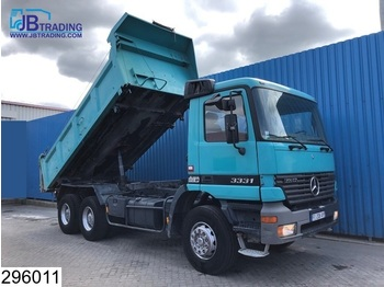 Camion benne Mercedes-Benz Actros 3331 6x4, Manual, 13 Tons axles, Steel suspenion, Analoge tachograaf, Hub reduction