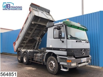 Camion benne Mercedes-Benz Actros 3331 6x4, Manual, Steel suspension, 13 Tons axles, Airco, Analoge tachograaf