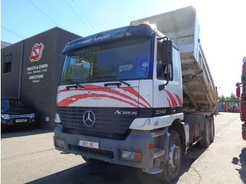 Camion benne Mercedes-Benz Actros 3340 manual lames