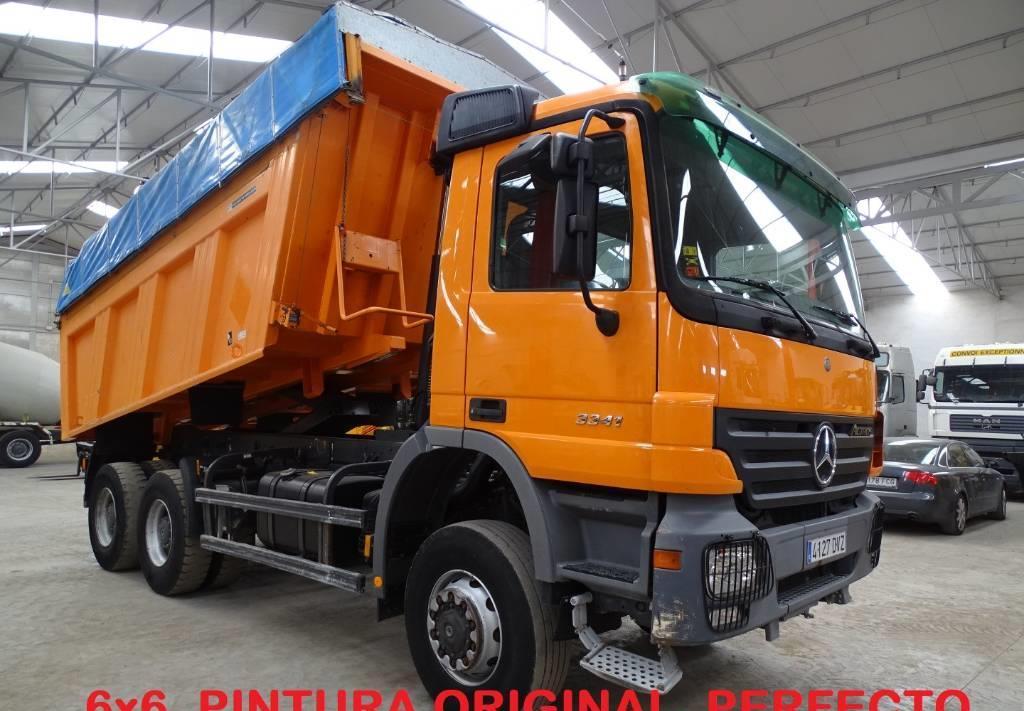 camion benne Mercedes-Benz Actros 3341
