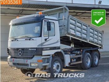 Mercedes-Benz Actros 3348 K 6X4 Manual Retarder Big-Axle 3-Side Tipper Euro 2 - camion benne