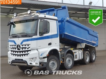 Mercedes-Benz Arocs 4151 8X4 Retarder Big-Axle SteelSuspension ClassicSpace - camion benne