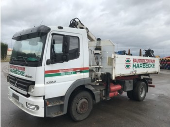 Mercedes-Benz Atego 1323 Kipper with Crane - camion benne