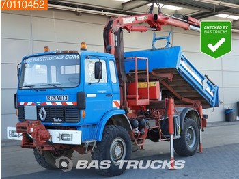 Renault 110 150 4X4 Manual Big-Axle Steelsuspension HMF A102 K2-B2. - camion benne