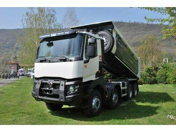 Camion benne Renault C480 8x4 Euro6d / Mulden Kipper EuromixMTP