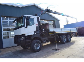 Renault K380 HEAVY.35 / TRUCK MOUNTED - camion benne